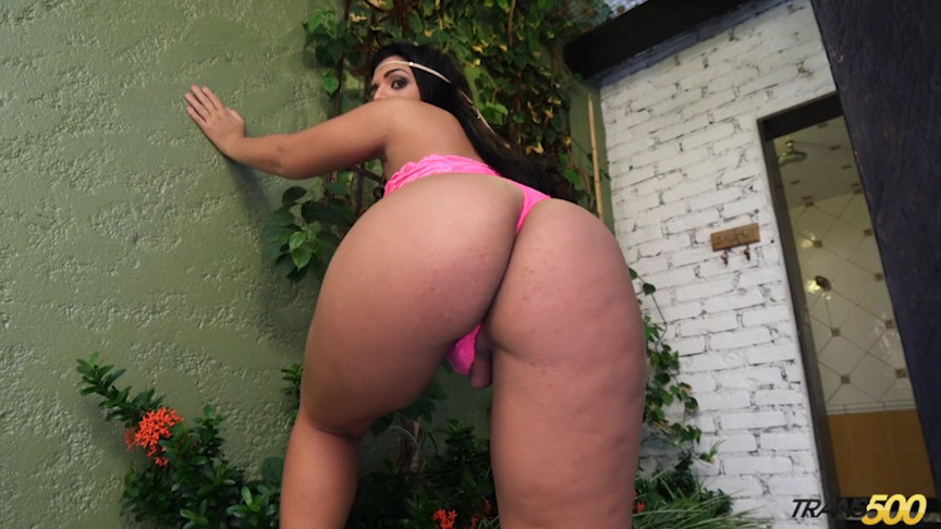Big Tgirl Booty
