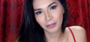 EmeraldLusT hot hot live ladyboy in red
