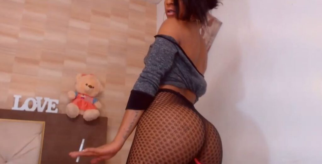 Video with a Latina shemale